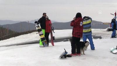 Kartalkaya'da kayak sezonu sona eriyor - BOLU