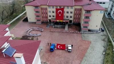 Öğrencilerden 'Afrin' koreografisi Video