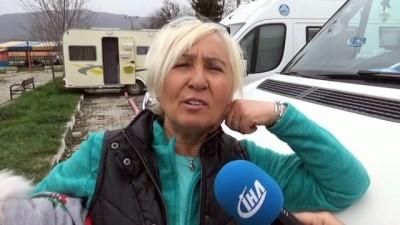 Simav'da 'kamp ve karavan' turizmi başladı Video