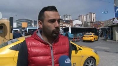Taksi şoföründen örnek davranış...Para dolu cüzdanı sahibine teslim etti