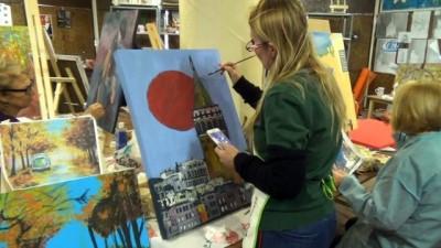 Tekirdağlı kadınların sanat sevgisi