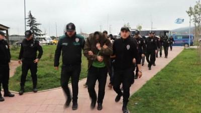 Türkiye-Avrupa uyuşturucu sevkıyatını yöneten 8 kişi yakalandı