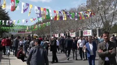 Doğu ve Güneydoğu'da HDP'nin nevruz kutlamaları - BİNGÖL/MARDİN