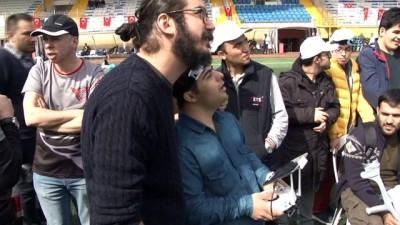 Down sendromlulardan drone gösterisi