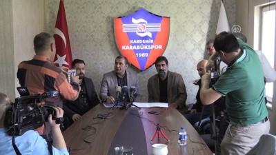 Kardemir Karabükspor, Karaman'la resmi sözleşme imzaladı - KARABÜK