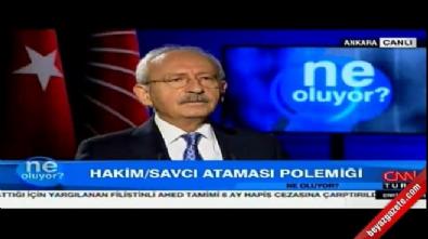 kemal kilicdaroglu - Kılıçdaroğlu FETÖ'cü gazetecilere sahip çıktı