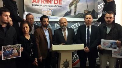 maneviyat - AK Parti'nin pankartının indirilmesine tepki - ÇANAKKALE