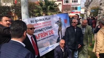 maneviyat -  Çanakkale'de ikinci pilav krizi