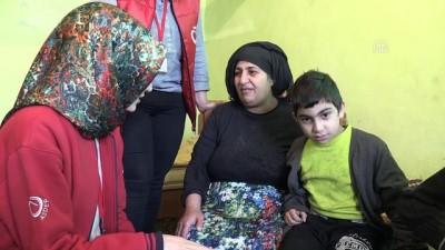 Engelli 3 çocukla yaşam mücadelesi veren ailenin hayatı ihbarla değişti - ELAZIĞ
