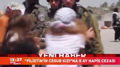 ''Filistin'in Cesur Kızı''na 8 ay hapis cezası