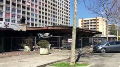 Fransa'da Türklere ait markette yangın - GRENOBLE