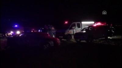 Nevşehir'de askeri uçak düştü (2)