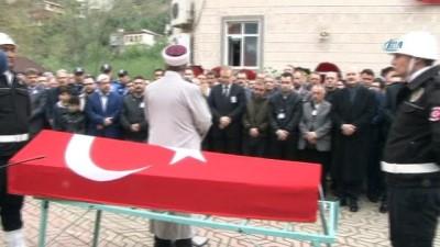 Şehit polis Çavdar son yolculuğuna uğurlandı