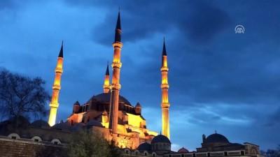 Selimiye Camisi'nin ışıkları 'Dünya Saati' için kapanacak - EDİRNE