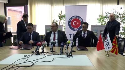 TİKA'dan Makedonya'ya teknik donanım desteği - ÜSKÜP