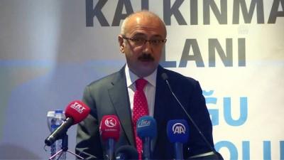 Bakan Elvan: 'Türkiye dünyanın en hızlı büyüyen ülkeleri arasında' - ERZURUM