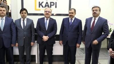 Bakan Eroğlu, 'Açık Kapı' bürosunu hizmete açtı - AFYONKARAHİSAR