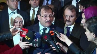 Başbakan Yardımcısı Çavuşoğlu, 'Masalcı Vakıf Dede' oyununu izledi - ANKARA