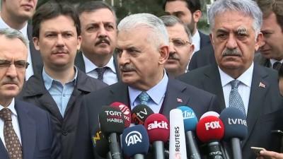 Başbakan Yıldırım: 'ABD, Suriye bölgesinde birtakım yanlışlarına rağmen hala bizim müttefikimizdir' - ANKARA Haberi