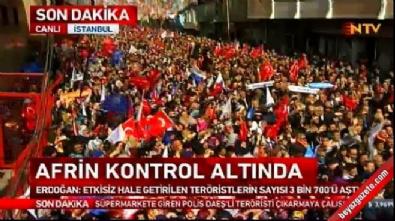 Zeytin Dalı Harekatı - Cumhurbaşkanı Erdoğan: Buralardan geri adım atmayız