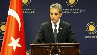 Dışişleri Sözcüsü Aksoy: 'ABD ile füze savunma sistemi konusunda temaslar sürüyor' - ANKARA