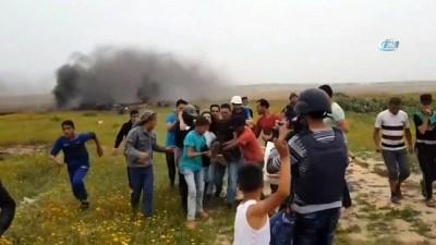 - İsrail askerlerinden Filistinlilere sert müdahale: 9 yaralı