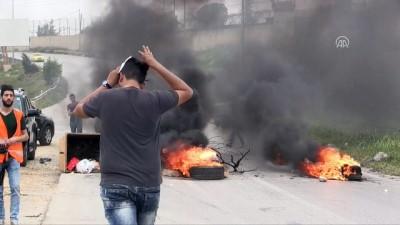 İsrail güçlerinin Batı Şeria'daki gösterilere müdahalesinde 10 Filistinli yaralandı - RAMALLAH