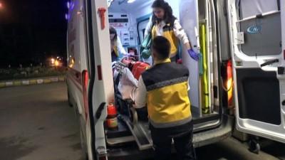 Kazada teğmen ağır yaralandı, hastane önüne gelen anne sinir krizleri geçirdi