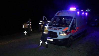 """Nevşehir'deki uçak kazası... Görgü tanığı: """"Şimşek gürler gibi patlama oldu"""""""