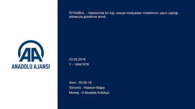 mustehcen - Sosyal medyadan müstehcen yayına gözaltına - İSTANBUL