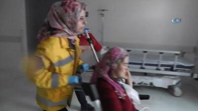 Beyşehir'de sobadan sızan gazdan 4 kişi zehirlendi