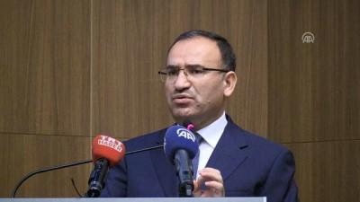 """Bozdağ: """"(Zeytin Dalı Harekatı) Türkiye düşmanlarını da bilimum ezdik geçtik"""" - YOZGAT"""