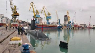 Türk denizaltısı TCG Preveze Arnavutluk'ta - DIRAÇ