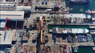 ucak gemisi - Türkiye'nin ilk milli uçak gemisi görüntülendi
