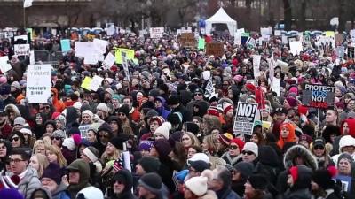 ABD'de silah karşıtı öğrenci protestoları - CHICAGO
