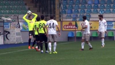 Çaykur Rizespor, Dinamo Batum'u hazırlık maçında 2-1 mağlup etti