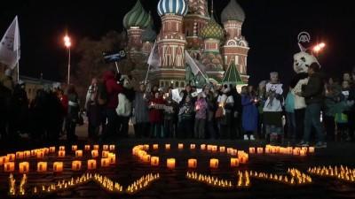 """Dünya Saati"" hareketine destek - MOSKOVA"