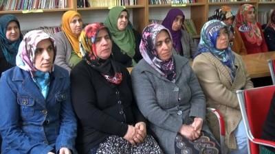 Eğitimi tamamlayan kadınlar tarla ve mandıralarda