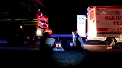 Yolcu otobüsü şarampole devrildi: 4 ölü, 27 yaralı (1) - AKSARAY