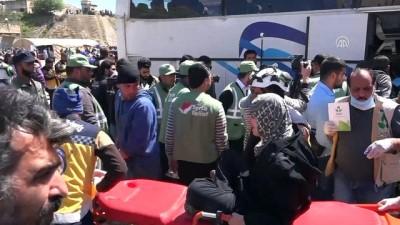 rejim karsiti - Doğu Guta'dan zorunlu tahliyeler devam ediyor - HAMA