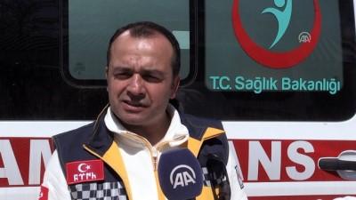 Duyarlı ambulans şoförüne teşekkür belgesi - KAHRAMANMARAŞ
