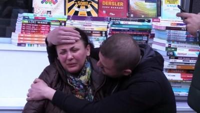 İş yeri yanan eczacı kadını yakınları yakınları teselli etti - AMASYA