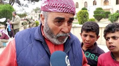Afrinliler Türkiye'ye minnettar