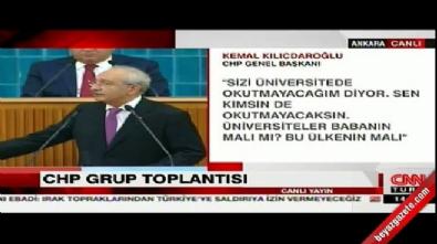 kemal kilicdaroglu - Kılıçdaroğlu: Devletin tepesinden üniversiteler dizayn edilmez