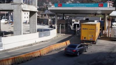 Sarp'ta kaçakçılara geçit verilmedi - ARTVİN