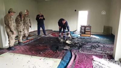 Cemevinde 2. kez yangın çıkarırken dumandan etkilendi - ERZİNCAN