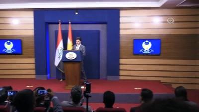 IKBY'deki memur maaşları krizi - IKBY Başbakanı Barzani - ERBİL