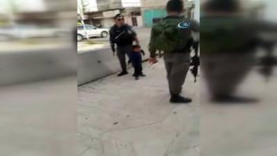 isgal -  - İsrail Askerinden 3 Yaşındaki Çocuğa Müdahale