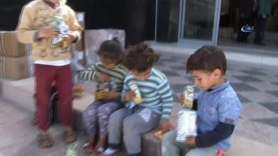 afad -  Kaybolan 5 çocuk mermerciye sığındı