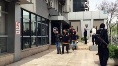 Bursa'da hareketli dakikalar, polis şüpheli aracı dakikalarca kovaladı